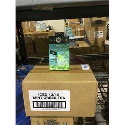 Case of Stash Mint Iced Green Tea Powder (12 x 20g)