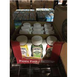 Case of 4 Heinz Picnic Packs (3 x 375mL)