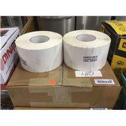 Case of Blank Location Labels (4100/RL 4RLS/Box 16.4M/Box)