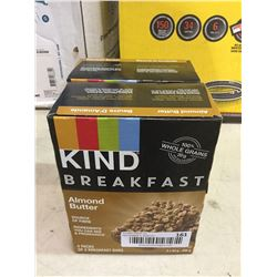 Kind Breakfast Almond Butter Breakfast Bars (200g) Lot of 2