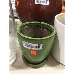 Plant Pot - Green