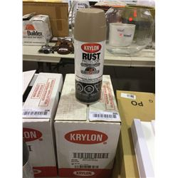 Case of Krylon Textured Finish Aerosol Spray (6 x 340g)