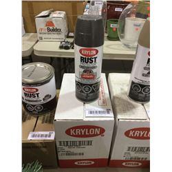 Case of Krylon Semi-Gloss Enamel Aerosol Spray (6 x 340g)