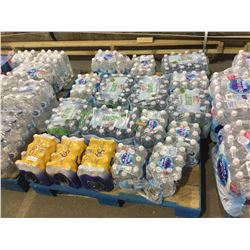 Pallet of Natural Spring Water - 17 Cases