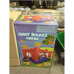 Giant Bounce Mania Bounce N' Play Inflatable Bounce House (12' x 8' x 6.5')