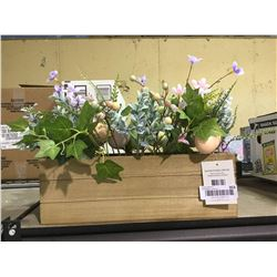 """Easter Floral Decor (20"""" x 10"""" x 9"""")"""