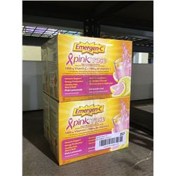 Emergen-C Pink Lemonade (282g) Lot of 4