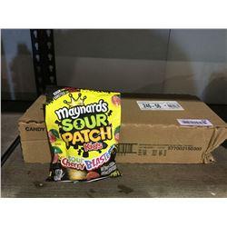 Case of Maynards Sour Patch Kids Sour Cherry Blasters (12 x 185g)