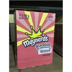 Maynards Swedish Berries (12 x 100g)