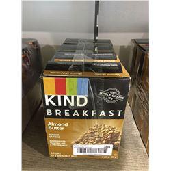 Kind Breakfast Almond Butter Breakfast Bars (200g) Lot of 4