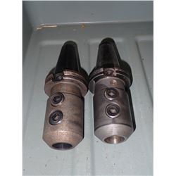 "(2) CAT40 1"" End Mill Holders"