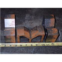 Lot of (3) V Blocks