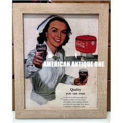 2016 USA Coca-Cola Nurse Poster