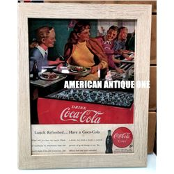 2016 USA Coca-Cola Restaurant Poster