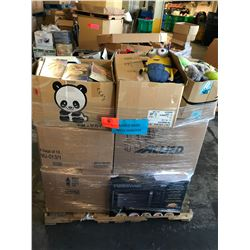Contents of Pallet: Boxes of Misc. Merchandise