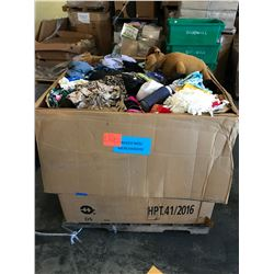Contents of Large Tri-Wall Box: Misc. Merchandise