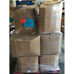 Contents of Pallet: Boxes of Mixed Cut Rags