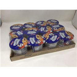 lot of 12x55g individual frosted flakes cereal cups