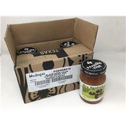 case lot of 6x473mL Mrs.Renfros black bean salsa