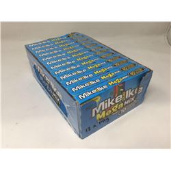 lot of 12x142g Mike and Ike mega mix candies
