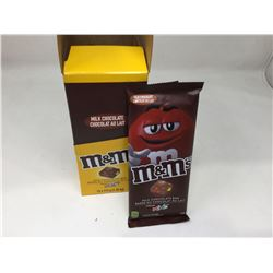 lot of 12x113 case of individual m and m milk chocolate bars