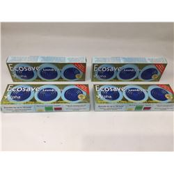 lot of 4x Ecosave laundry disks