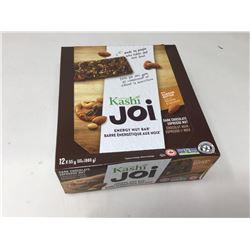 case of 12x55g Kashi Joi dark chocolate flavored bars