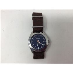 lot of 1x Fossil leather strapped watch