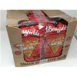 case of 6x156g Beanfields Nacho bean chips
