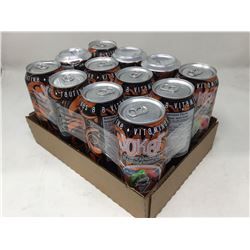 case of 12x Joker energy drinks, tropical mango flavored