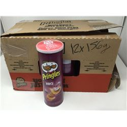 case of 12x156g Pringles BBQ chips