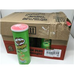 case of 14x156g Pringles sour cream and onion chips