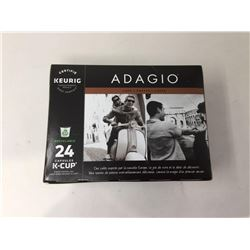 lot of 1x24capsules KeurigAdagio coffee