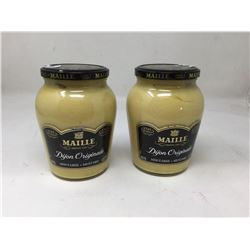 lot of 2x 800mL Maillemustard