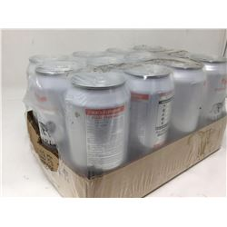 case of 12x355mL Marley peach rasberry