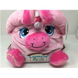 lot of 1x lunch pets pink unicorn