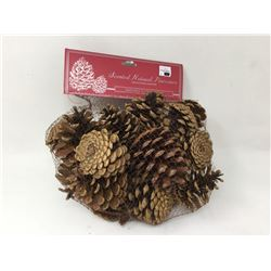 lot of Scented Natural Pinecones, household decor