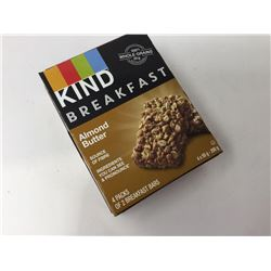 lot of 4x50g Kind almond butter bars