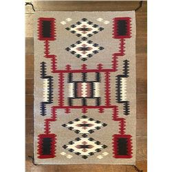 Ruby Begay Navajo Handwoven Storm Pattern