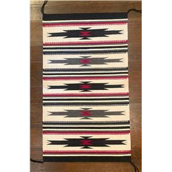 Loretta Begay Handwoven Navajo Crystal Weaving