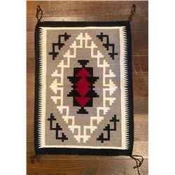 Suzanna Tacheene Handwoven Navajo Ganado Weaving