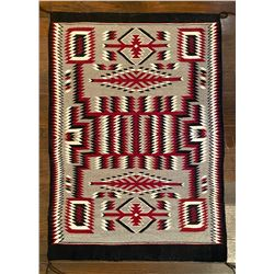 Lucille Begay Handwoven Navajo Storm Pattern