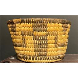Pima Basketry Bowl with multiple figures