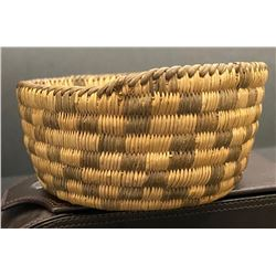 Pima Basket with much sought after Checker Design