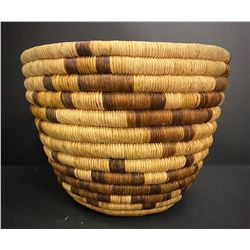 Hopi Coiled Peach Basket