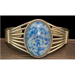 1990's Blue Ice Sterling Bracelet