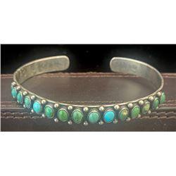 1930's Snake Eye Row Bracelet