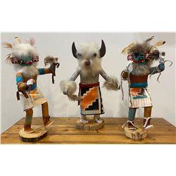 3 Navajo Kachina��s