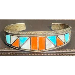 1940's Zuni Inlay Bracelet