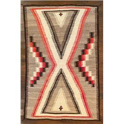 Classic Navajo 1930's Rug.